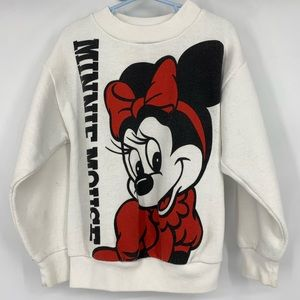 Vintage Disney Minnie Mouse Crewneck Sweatshirt